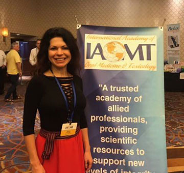 Dr. Olivia Hart at IAOMT
